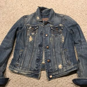 Abercrombie and Fitch Denim Jacket Size Small